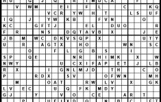 Printable Sudoku Letters
