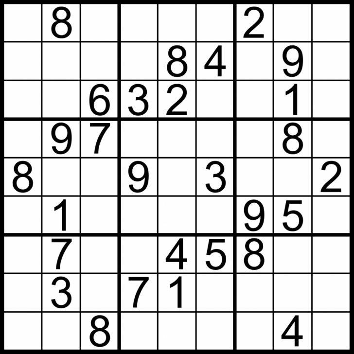 Printable Simple Sudoku