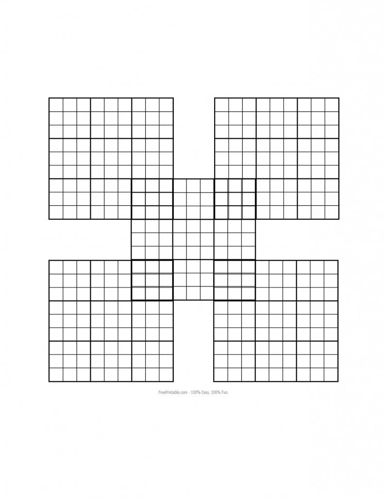 Sudoku Grid Template. Blank Sudoku Template Quotes. Blank Sudoku | Printable Blank Sudoku Forms