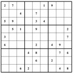 Sudoku Grids   Under.bergdorfbib.co | Printable Blank Sudoku Squares