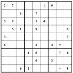 Sudoku Grids   Under.bergdorfbib.co | Printable Sudoku Sheets Blank