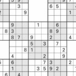 Sudoku High Fives | Activity Shelter | 5 Grid Sudoku Printable