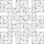 Sudoku High Fives Printable | Kiddo Shelter | Printable Sudoku 16