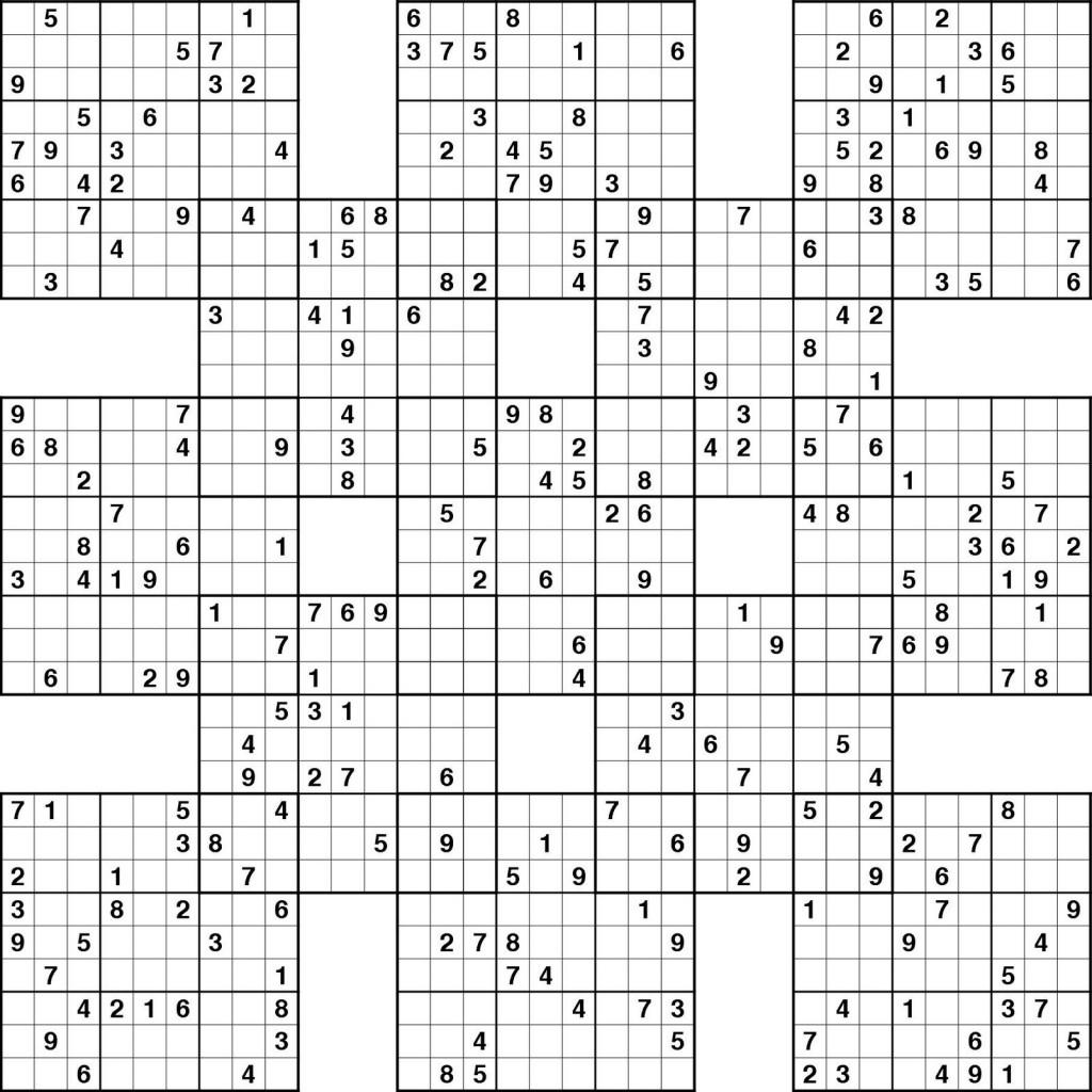 Sudoku High Fives Printable | Kiddo Shelter | Printable Super Sudoku