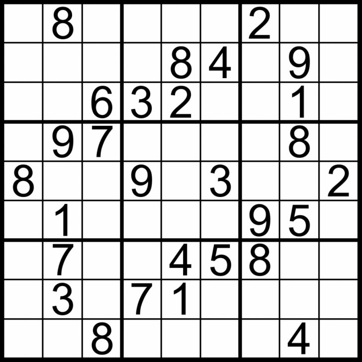 Printable Sudoku Easy Level