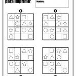 Sudoku Para Niños Para Imprimir | Sudoku | Sudoku Puzzles, Preschool | Sudoku Printable Puzzles Para Imprimir