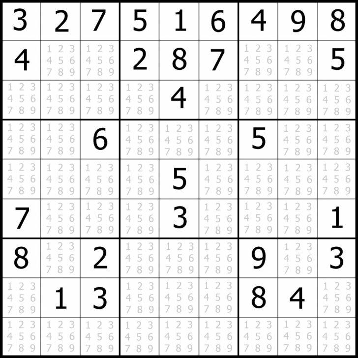 Printable Irregular Sudoku