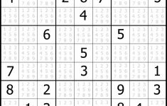 Sudoku Printable | Free, Medium, Printable Sudoku Puzzle #1 | My | Printable Sudoku 4 On A Page