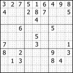 Sudoku Printable | Free, Medium, Printable Sudoku Puzzle #1 | My | Printable Sudoku Puzzles 1 Per Page