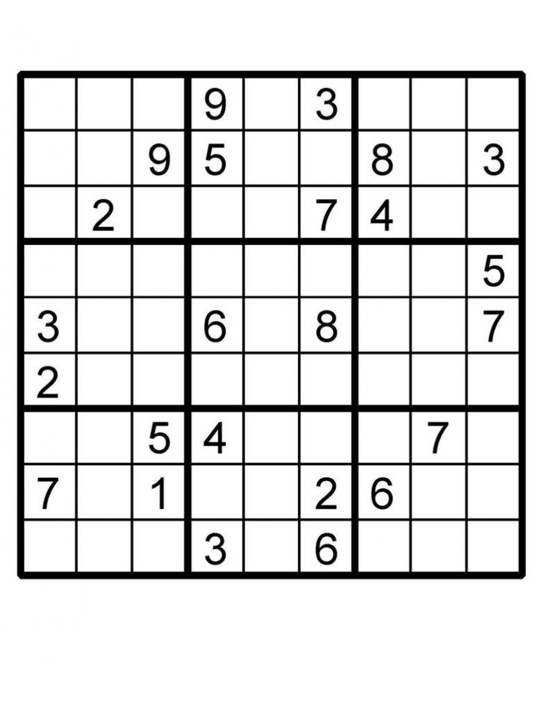 Sudoku Printable Puzzle | Etsy | Sudoku Printable Australia