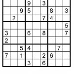 Sudoku Printable Puzzle | Etsy | Sudoku Printable Puzzles Para Imprimir