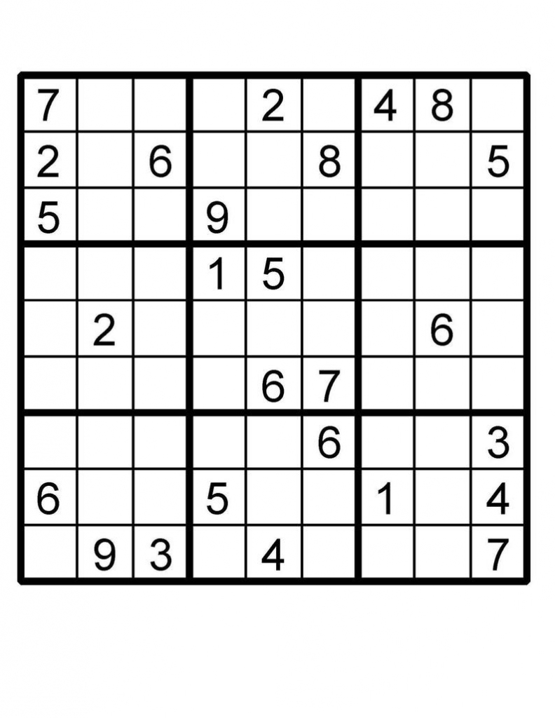 Sudoku Puzzle Sudoku Instant Download Printable Puzzle | Etsy | Free Printable Kingdom Sudoku
