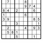 Sudoku Puzzle Sudoku Instant Download Printable Puzzle | Etsy | Printable Sudoku Download