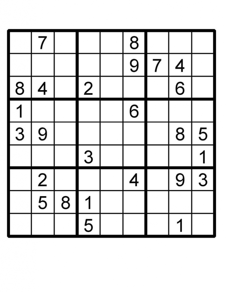Sudoku Puzzle Sudoku Instant Download Printable Puzzle | Etsy | Printable Sudoku Uk