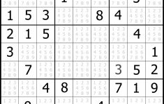 Free Printable Sudoku Challenger Puzzles