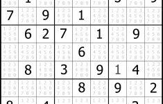 Printable Sudoku 4 Square Easy