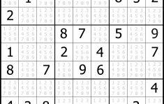 Printable Sudoku Hard #1