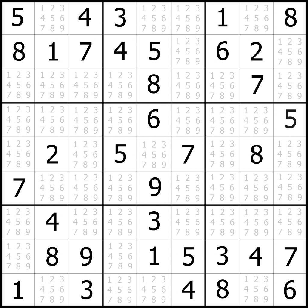 Sudoku Puzzler | Free, Printable, Updated Sudoku Puzzles With A | Printable Sudoku Puzzles Easy #1