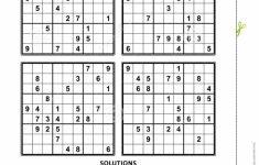 Printable Sudoku Fiendish