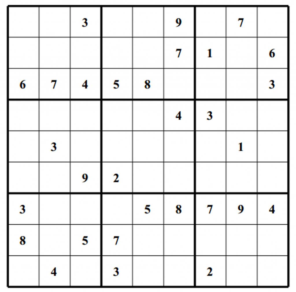 Sudoku Puzzles | Free Sudoku Puzzles | Page 2 | Printable Blank Sudoku 2 Per Page