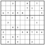Sudoku Puzzles | Free Sudoku Puzzles | Page 2 | Printable Blank Sudoku Squares