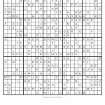 Sudoku Puzzles Printable 25X25 | Printable Sudoku 25X25