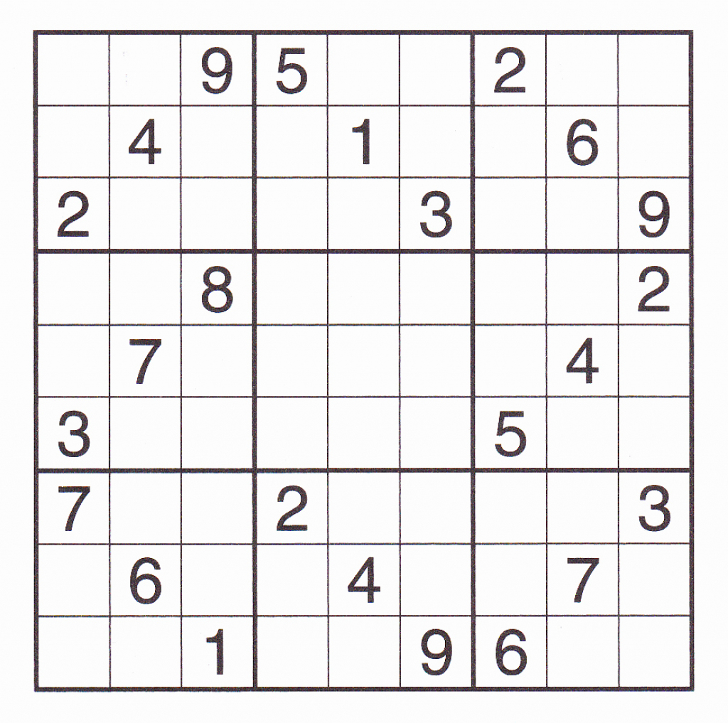 Sudoku Puzzles Printable For 5 Best Of Printable X Sudoku Puzzles | Printable Sudoku With X