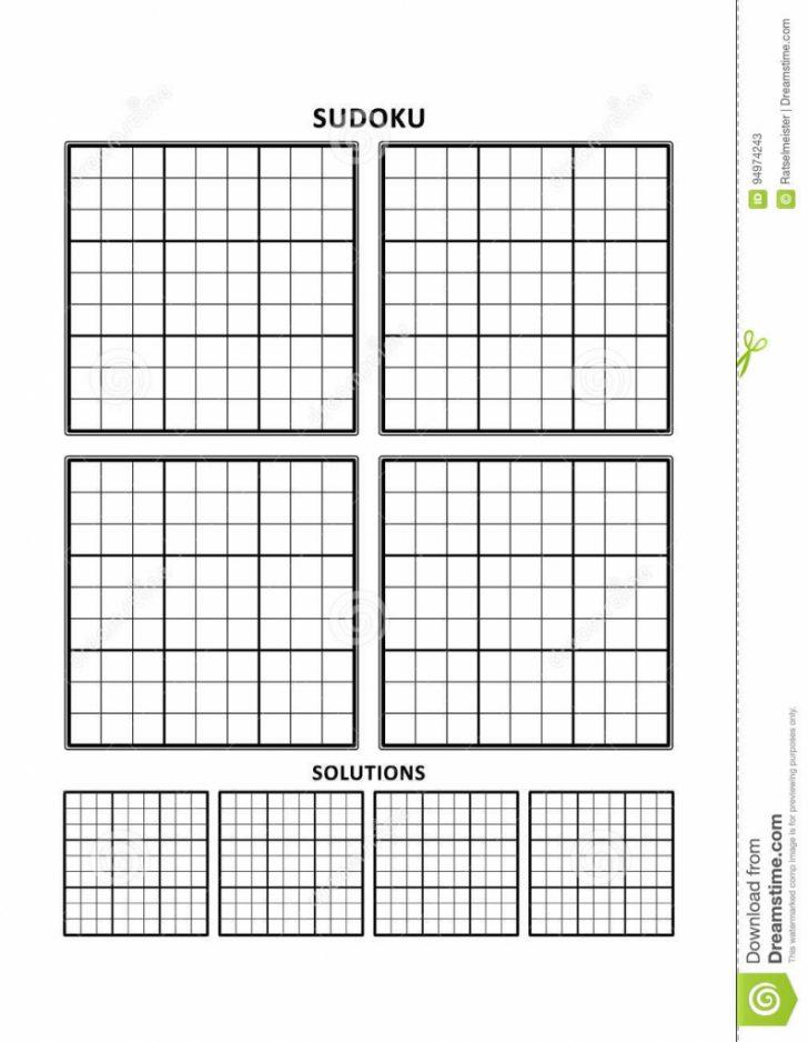Sudoku Printable A4