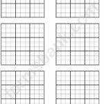 Sudoku Template   Under.bergdorfbib.co | Printable Blank Sudoku Template