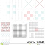 Sudoku Templates. Last Resort Forcing Chain Forcing Net Templates | Printable Blank Sudoku Template