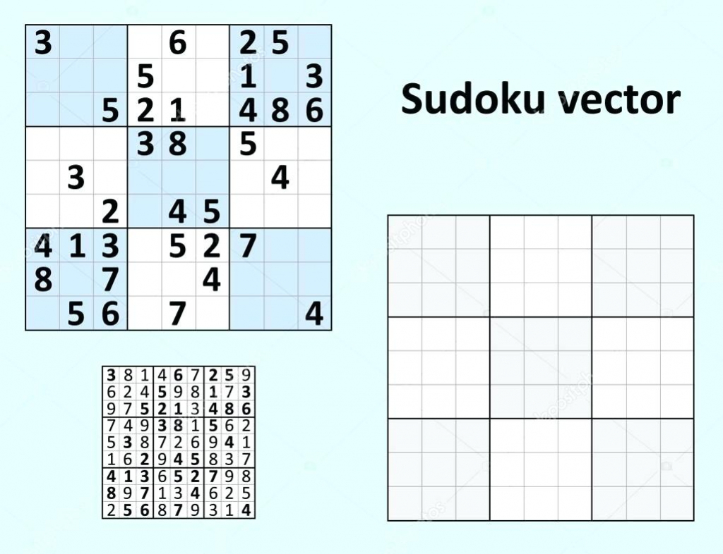 Sudoku Templates - Under.bergdorfbib.co | Printable Cube Sudoku Puzzles