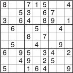 Sudoku Templates   Under.bergdorfbib.co | Printable Irregular Sudoku