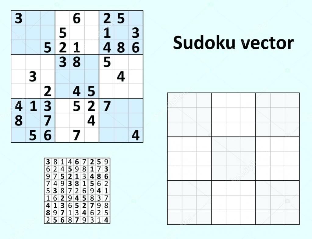 Sudoku Templates - Under.bergdorfbib.co | Sudoku Printable Para Imprimir Gratis