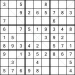 Sudoku X 9X9 (1) | Printable Sudoku 25X25 Numbers