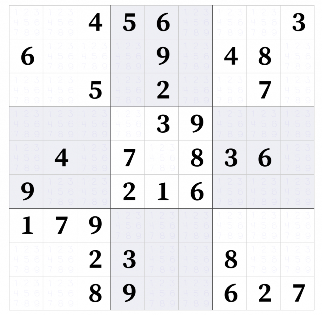 Sudokulinks – A Stepstep Tutorial On How To Play Sudoku | Printable Sudoku Five Squares