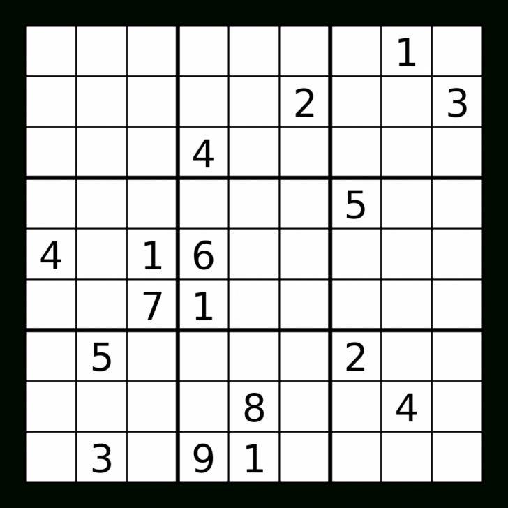 Printable Sudoku Paper