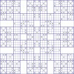 Super Samurai Sudoku 13 Grids | Printable Combination Sudoku