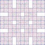 Super Samurai Sudoku 13 Grids | Printable Samurai Sudoku Book