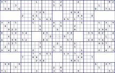 Super Samurai Sudoku 13 Grids | Printable Sudoku Puzzles Samurai