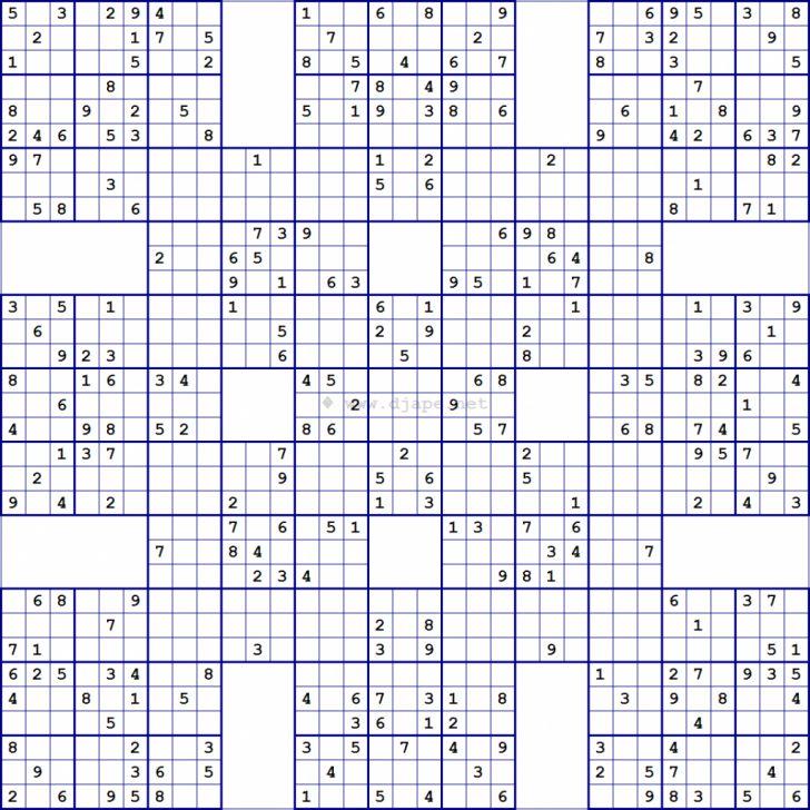 Printable Super Sudoku