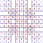 Super Samurai Sudoku 13 Grids | Super Sudoku Printable Download