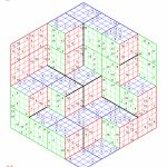 Super Sudoku Three Dimensions | Printable Monster Sudoku 16X16