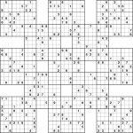 Template: Printable Sudoku Grids. Printable Sudoku Grids | Printable Sudoku Samurai