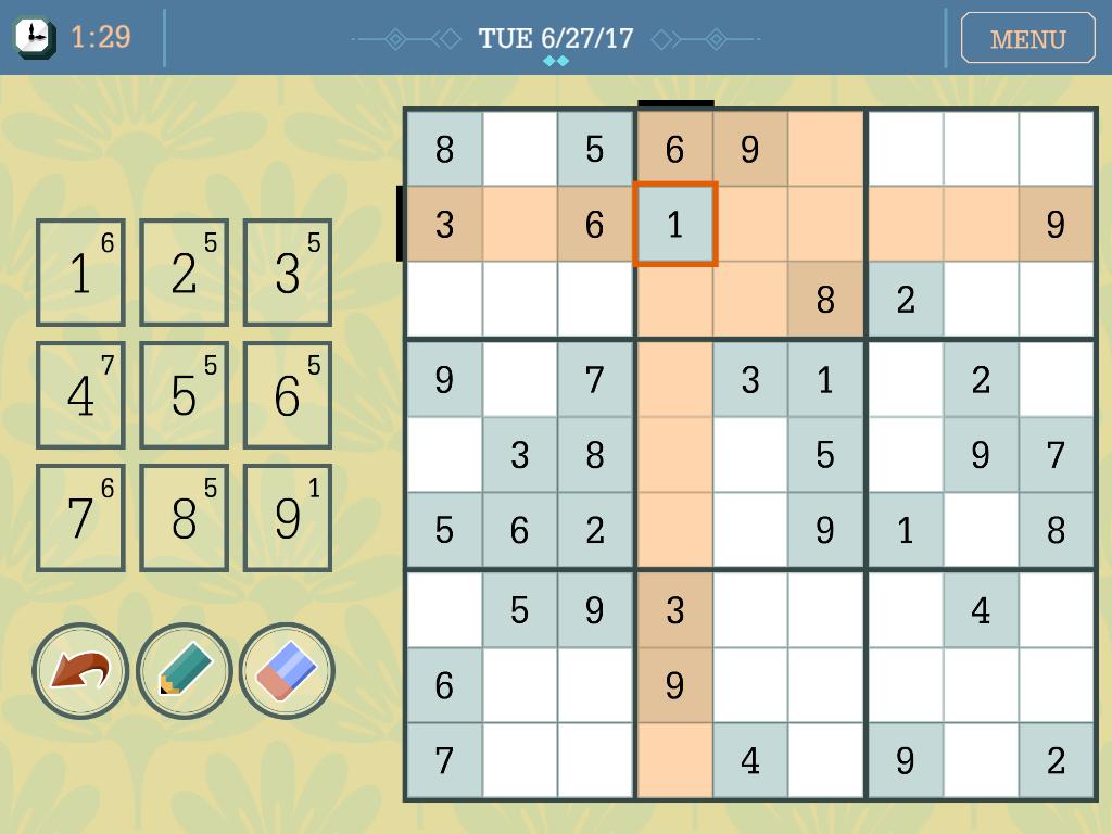 The Daily Sudoku - Free Online Game | Metro News | Daily Sudoku Printable Version