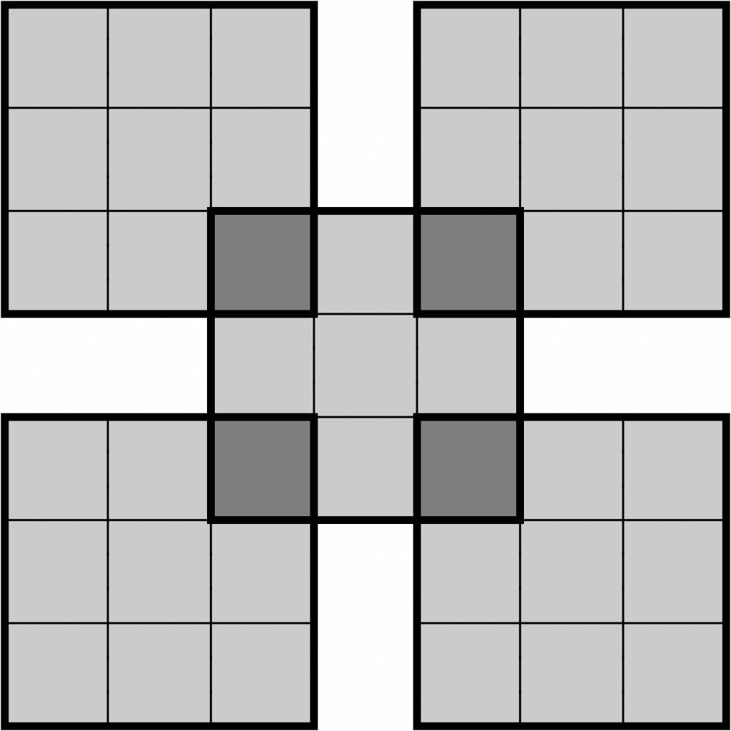 The Daily Sudoku | Printable Sudoku 8X8