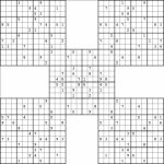 The Largest Sudoku Ever! | Puzzles | Sudoku Puzzles, Puzzle, Riddles | Printable Multi Sudoku Puzzles