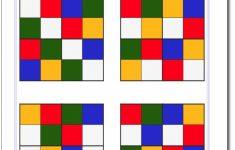 Printable Cube Sudoku Puzzles
