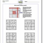 These Printable Sudoku Puzzles Range From Easy To Hard, Including | 6 Number Sudoku Printable