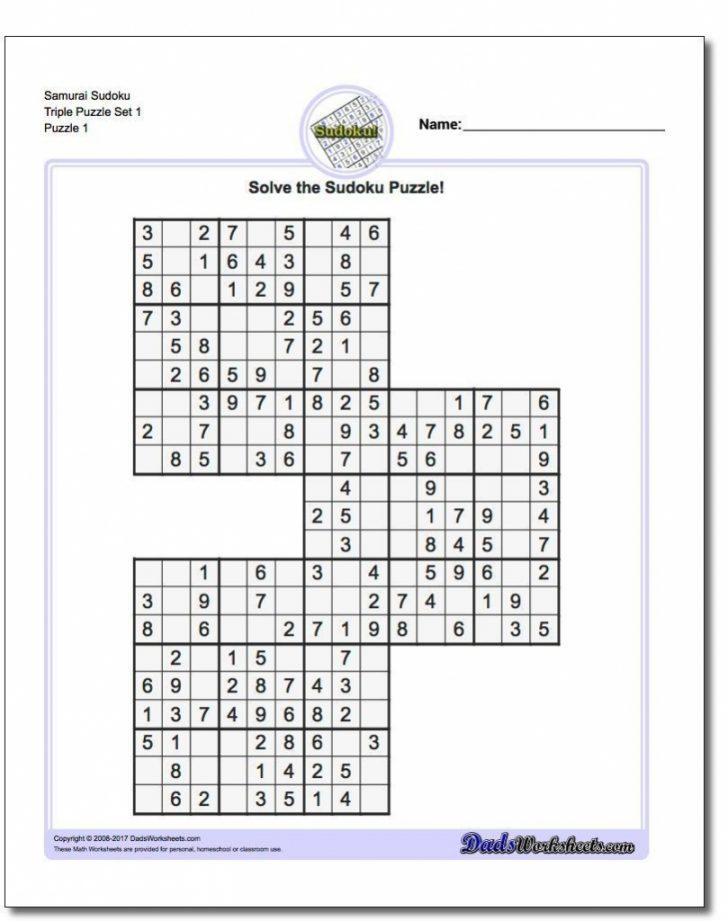Printable Sudoku 16 Puzzles Free