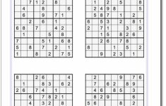 These Printable Sudoku Puzzles Range From Easy To Hard, Including | Printable Sudoku Packet